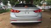2016 Hyundai Elantra rear fully revealed in India, arrives at dealer yard
