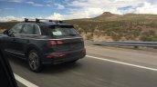2017 Audi Q5 rear three quarters spy shot