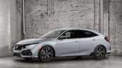 2017 Honda Civic Hatchback front three quarters