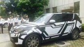2017 Land Rover Discovery China spy shot