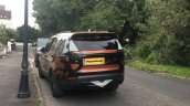 2017 Land Rover Discovery rear three quarters spy shot