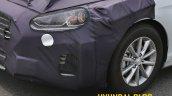 2018 Hyundai Sonata (facelift) headlamp spy shot