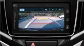 AU-spec 2016 Suzuki Baleno reversing camera output