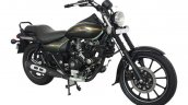Bajaj Avenger Cruise 220 Matte Wild Green front three quarters