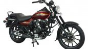 Bajaj Avenger Street 150 Cosmic Red front three quarters