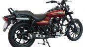 Bajaj Avenger Street 150 Cosmic Red rear three quarters