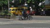 Bajaj Pulsar CS400 in motion spy shot