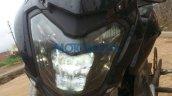 Bajaj Pulsar CS400's headlamp detailed in new spyshots