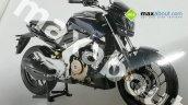 Bajaj Pulsar VS 400 front quarter leaked