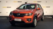 Brazilian-spec Renault Kwid front showcased in new color