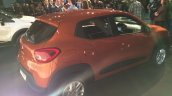 Brazilian-spec Renault Kwid rear showcased in new color
