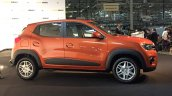 Brazilian-spec Renault Kwid side showcased in new color