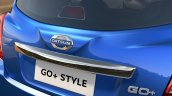 Datsun GO+ Style Edition rear end launched in India