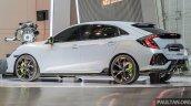 Honda Civic Hatchback Prototype rear three quarters GIIAS 2016