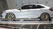 Honda Civic Hatchback Prototype side profile GIIAS 2016