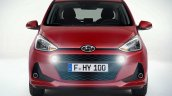 Hyundai i10 facelift front revealed for Europe