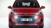 Hyundai i10 facelift front revealed for Europe