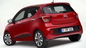 Hyundai i10 facelift rear quarter revealed for Europe
