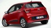 Hyundai i10 facelift rear quarter revealed for Europe