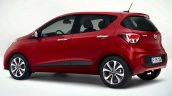 Hyundai i10 facelift rear three quarter revealed for Europe