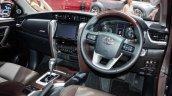 India-bound 2016 Toyota Fortuner interior showcased at GIIAS
