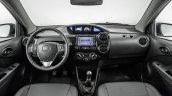 India-bound Toyota Etios Platinum (facelift) dashboard revealed in Brazil