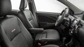 India-bound Toyota Etios Platinum (facelift) front cabin revealed in Brazil