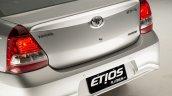 India-bound Toyota Etios Platinum (facelift) spoiler revealed in Brazil
