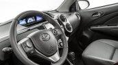 India-bound Toyota Etios Platinum (facelift) steering wheel revealed in Brazil