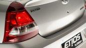 India-bound Toyota Etios Platinum (facelift) taillamp revealed in Brazil