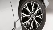 India-bound Toyota Etios Platinum (facelift) wheel revealed in Brazil
