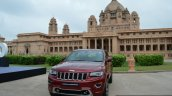Jeep Grand Cherokee front backdrop launched in India