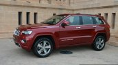 Jeep Grand Cherokee front three quarter launched in India
