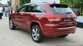 Jeep Grand Cherokee rear quarter launched in India