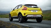 Lada XCODE Concept rear three quarters