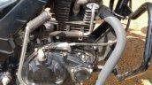Mahindra 155 cc commuter engine spy shot