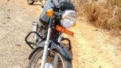 Mahindra 155 cc commuter front spy shot
