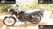 Mahindra 155 cc commuter profile spy shot