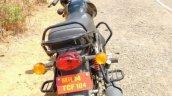 Mahindra 155 cc commuter rear spy shot