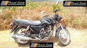 Mahindra 155 cc commuter right side spy shot