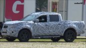 Mercedes GLT front three quarters spy shot