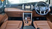 Modified Toyota Innova Crysta dashboard In Images