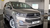 Modified Toyota Innova Crysta headlamp, grille, bumper In Images