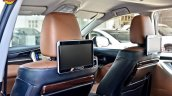 Modified Toyota Innova Crysta rear entertainment In Images