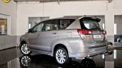 Modified Toyota Innova Crysta rear three quarter In Images