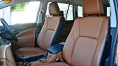 Modified Toyota Innova Crysta seats In Images