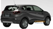 Renault Kaptur rear three quarters patent application China