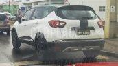 Renault Kaptur rear three quarters spied Brazil