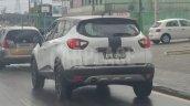 Renault Kaptur rear three quarters spy shot Brazil