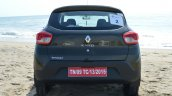 Renault Kwid 1.0 MT rear First Drive Review